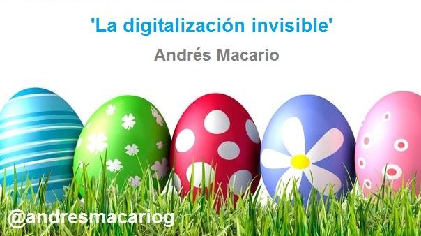 'La digitalización invisible' - Andres Macario - El Norte de Castilla