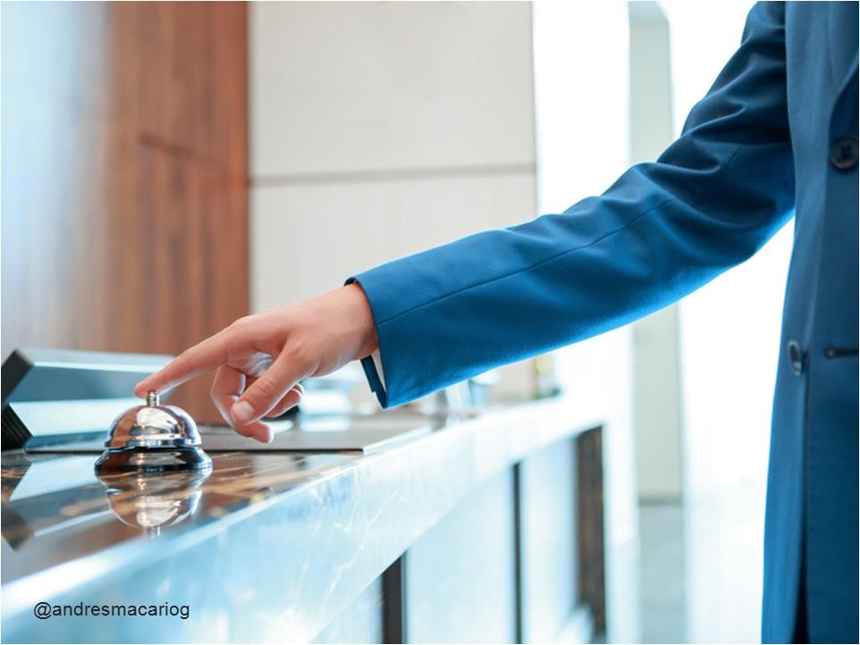 Transformacion Digital Industria Hotelera - Andres Macario