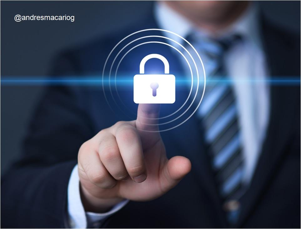 Ciberseguridad prioridad de la empresa - Andres Macario